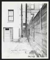 Alley between 350 and 356 West 145th Street facing [north?] from rear of 350-356 [West 144th Street?], Manhattan
