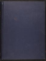 [Minutes of the Executive Committee of the New-York Historical Society, 1907-1910], upper cover