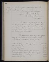 [Minutes of the Executive Committee of the New-York Historical Society, 1907-1910], page 92, minutes of May 19, 1908 (continued)