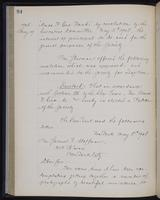 [Minutes of the Executive Committee of the New-York Historical Society, 1907-1910], page 94, minutes of May 19, 1908 (continued)