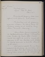 [Minutes of the Executive Committee of the New-York Historical Society, 1907-1910], page 97, minutes of May 19, 1908 (continued)