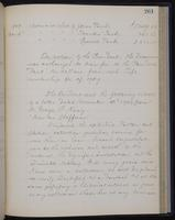 [Minutes of the Executive Committee of the New-York Historical Society, 1907-1910], page 261, minutes of November 16, 1909 (continued)