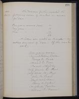 [Minutes of the Executive Committee of the New-York Historical Society, 1907-1910], page 273, minutes of December 21, 1909 (continued)
