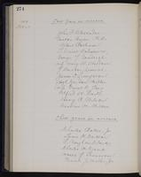 [Minutes of the Executive Committee of the New-York Historical Society, 1907-1910], page 274, minutes of December 21, 1909 (continued)
