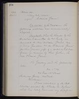 [Minutes of the Executive Committee of the New-York Historical Society, 1907-1910], page 276, minutes of December 21, 1909 (continued)