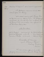 [Minutes of the Executive Committee of the New-York Historical Society, 1907-1910], page 344, minutes of April 19, 1910 (continued)