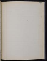 [Minutes of the Executive Committee of the New-York Historical Society, 1907-1910], page 349, no entry