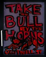 Verso: Take the bull by the horns, Occupy Wall St
