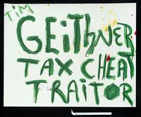 Tim Geithner, tax cheat traitor