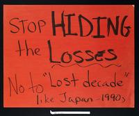 "Stop hiding the losses, no to ""lost decade"" like Japan 1990s"