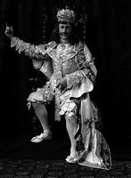 Dave Hennen Morris in fancy dress, undated [circa 1900-1910].