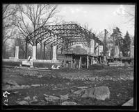 Aquatic Birds House under construction, New York Zoological Gardens [the Bronx Zoo], Bronx, N.Y., 1899.