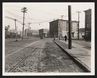 Station 3+00, Flushing Avenue [at Varick Avenue], Brooklyn