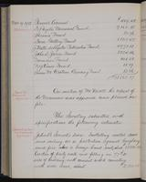 [Minutes of the Executive Committee of the New-York Historical Society, 1910-1913, page 322], minutes of November 19, 1912 (continued)