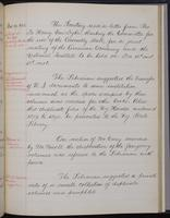 [Minutes of the Executive Committee of the New-York Historical Society, 1910-1913, page 325], minutes of November 19, 1912 (continued)