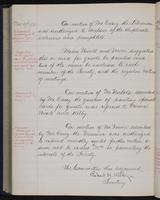 [Minutes of the Executive Committee of the New-York Historical Society, 1910-1913, page 326], minutes of November 19, 1912 (continued)