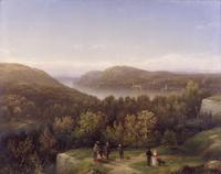Hudson River Valley from Fort Putnam, West Point.