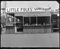 Little Folks Lunchroom, Coney Island, Brooklyn, N.Y., undated [c. 1903-1905].