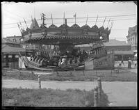 Carousel, Coney Island, Brooklyn, N.Y., undated [c. 1903-1905].