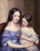 Louisa and Eliza Macardy.