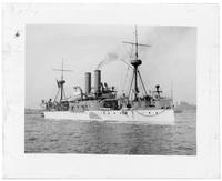 The USS Maine, New York City, undated.