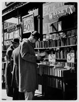 [Secondhand bookstore on 4th Avenue south of 14th Street, New York City, 1940].