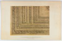 "1 1/2"" scale detail of ceiling of space 330F, reading room 3rd fl., revised design, [United States Supreme Court Building, Washington, D.C., Cass Gilbert, architect, circa 1933-1935]."