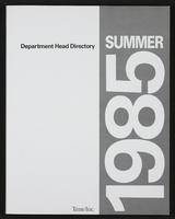 Time Inc. department head directory, 1985 Summer.