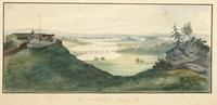 View at Fort Clinton, McGown's Pass, New York City.