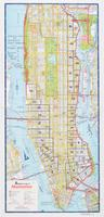 Hagstrom map of Manhattan : [Tenement House Committee Strong-holds of poverty and Prevalence of disease series index map].
