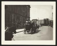 Coach on Fifth Ave., undated [circa 1900-1910].