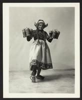 """Chorus girl,"" Puff Puff Co., undated [circa 1900-1910]."