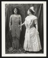 Ernestine Schumann-Heinck and Mrs. Patrick Campbell, undated [circa 1900-1910].