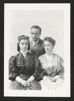 Unidentified man and women, undated [circa 1900-1910].