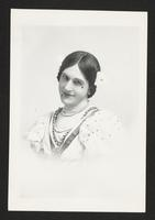 William Norris as a woman, undated [circa 1900-1910].