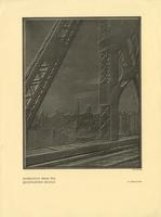 """Manhattan from the Queensboro Bridge"" tear sheet from The Architectural Forum."
