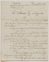 Copy of a letter from Dussumier [?] & Co. to Ebenezer Stevens, dated May 14, 1812, p. [1].