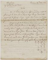 Copy of a letter from Dussumier [?] & Co. to Ebenezer Stevens, dated May 22, 1812.