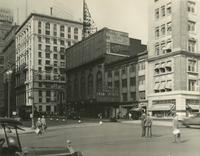 View of Al Jolson Theater on 7th Avenue from Central Park South.