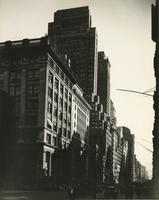 View of Fifth Avenue looking south from near 47th Street showing Fred F. French Building.