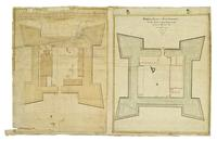 A plan of Fort George in the City of New York, Made at the Request of the Honorable John Cruger, Esquire, and the rest of the Committee appointed to fix on a suitable place for building a Government House. Made this 12th April 1774 by Gerard Bancker. ; Co