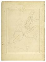 An unnamed plan of Staten Island, Long Island, and York Island, showing forts, etc.