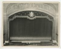 Ambassador Theater stage, 219 West 49th Street, New York City.
