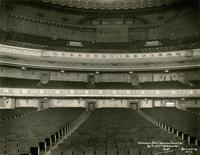 Seating inside Beacon Theater at 2124 Broadway, New York City.