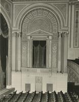 Interior view of Biltmore Theatre at 261 West 47th Street, New York City.