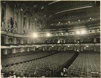 Interior view of Brooklyn Paramount Theatre.