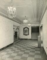 Second lobby entrance of Carlton Theatre, 292 Flatbush Avenue, Brooklyn, New York.