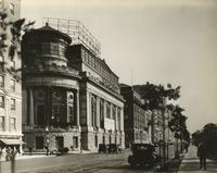 Exterior view of Century Theatre at 62nd Street and Central Park West.