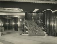 Earl Carroll Theatre lobby, 753 Seventh Avenue, New York City.
