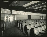 Orchestra seating inside the Earl Carroll Theatre, 753 Seventh Avenue, New York City.
